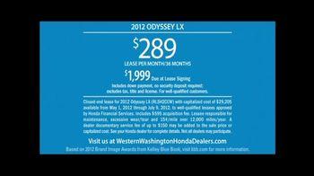 2012 Honda Odyssey LX TV Spot, 'Eh' - Thumbnail 4
