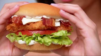 Carl's Jr. Chicken Tenders Sandwich TV Spot - Thumbnail 3