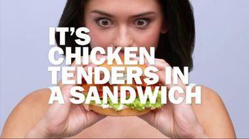 Carl's Jr. Chicken Tenders Sandwich TV Spot - Thumbnail 6