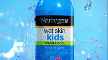 Neutrogena Wet Skin Kids TV Spot, 'Pool' - Thumbnail 2