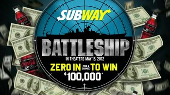 Subway TV Spot, 'Zero in to Win Contest' - Thumbnail 5