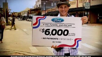 Ford Memorial Day Event TV Spot, 'F-150, Fusion, and Escape' - Thumbnail 4