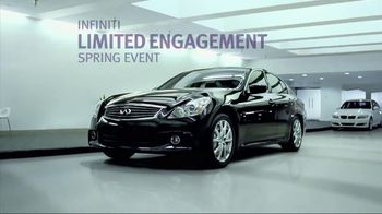 2012 Infiniti G25 AWD Spot TV Spot, 'Limited Engagement Spring Event'