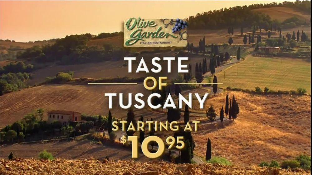 Olive Garden Taste of Tuscany TV Spot