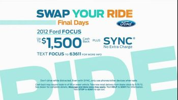 Ford Swap Your Ride TV Spot, 'Three Friends' - Thumbnail 4