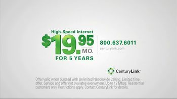CenturyLink TV Spot, 'Locked Rate' - Thumbnail 6