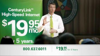 CenturyLink TV Spot, 'Locked Rate'