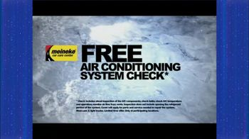 Meineke Free Air Conditioning System Check TV Spot - Thumbnail 3