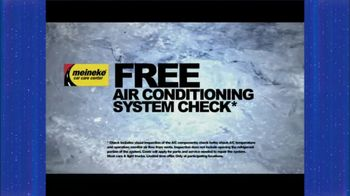 Meineke Free Air Conditioning System Check TV Spot