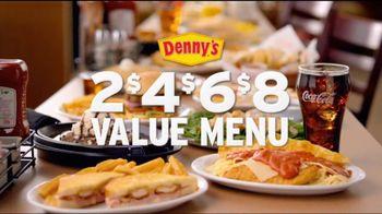 Denny's 2, 4, 6, 8 Value Menu TV Spot, 'Options'