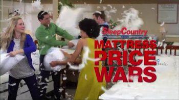 Sleep Country TV Spot for Mattress Price Wars
