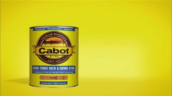 Cabot Wood Stain TV Spot, 'Baseball and Fence Pro' - Thumbnail 5