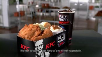 KFC Fully Maxed Meal TV Spot - 3 commercial airings