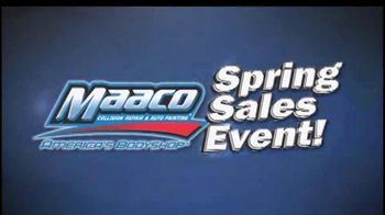 Maaco Spring Sales EventT V Spot, 'Paint Service and Collision Repair' - Thumbnail 1