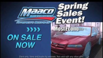 Maaco Spring Sales EventT V Spot, 'Paint Service and Collision Repair' - Thumbnail 2