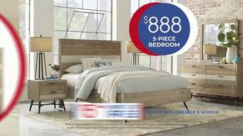 Rooms to Go Anniversary Sale TV Spot, 'Five-Piece Bedroom Set: $888' Song by Junior Senior - Thumbnail 7