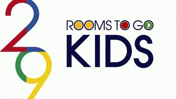 Rooms to Go Kids Anniversary Sale TV Spot, 'Five-Piece Bedroom Set: $995' Song by Junior Senior - Thumbnail 1