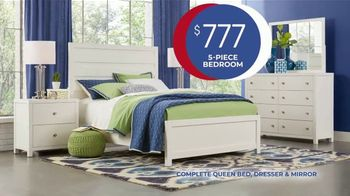 Rooms to Go Anniversary Sale TV Spot, 'Five-Piece Bedroom Set' Song by Junior Senior - Thumbnail 5