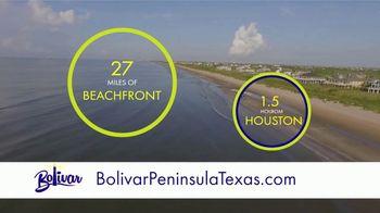 Bolivar Peninsula Tourism and Visitors Center TV Spot, '27 Miles of Beachfront Paradise' - Thumbnail 2