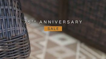 Ashley HomeStore 75th Anniversary Sale TV Spot, 'Up to 30 Percent Off' Song by Midnight Riot