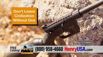 Henry Repeating Arms U.S. Survival AR-7 TV Spot, 'Perfect Companion' - Thumbnail 7