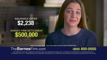 The Barnes Firm TV Spot, 'What's Your Case Really Worth?'