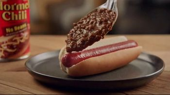 Hormel Chili TV Spot, 'Recipe for an Exciting Evening' - Thumbnail 1
