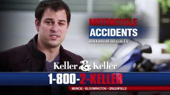 Keller & Keller TV Spot, 'Motorcycle Accidents Injuries'