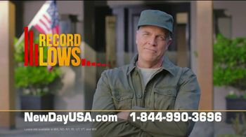 NewDay USA VA Streamline Refi TV Spot, 'Record Lows'