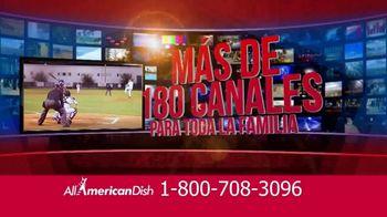 All American Dish TV Spot, 'La mejor televisión' [Spanish]