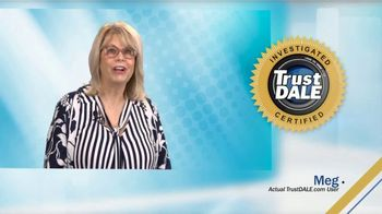 TrustDALE TV Spot, 'Meg'