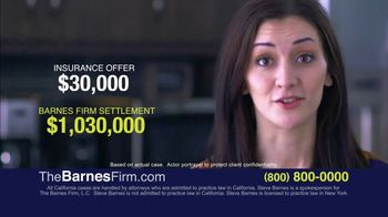 The Barnes Firm TV Spot, 'Hit by a Truck'