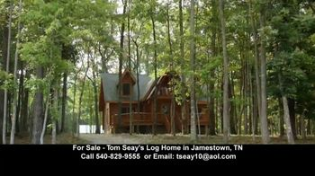 RFD TV TV Spot, 'Tom Seay's Log Home' - 27 commercial airings