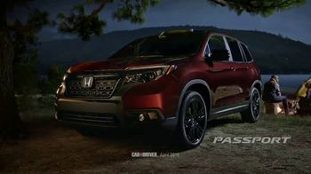 2019 Honda Passport TV Spot, 'Built For Campouts' [T1] - 19 commercial airings