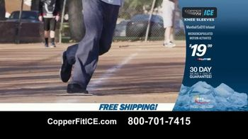 Copper Fit Ice Knee Sleeves TV Spot, 'Menthol' - Thumbnail 10