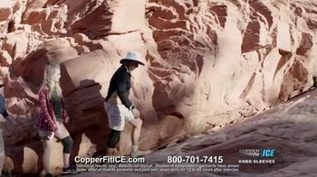 Copper Fit Ice Knee Sleeves TV Spot, 'Menthol' - Thumbnail 4