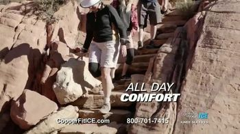 Copper Fit Ice Knee Sleeves TV Spot, 'Menthol' - Thumbnail 5