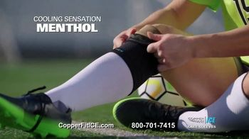 Copper Fit Ice Knee Sleeves TV Spot, 'Menthol' - Thumbnail 6