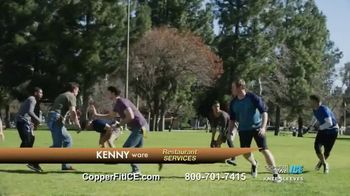 Copper Fit Ice Knee Sleeves TV Spot, 'Menthol' - Thumbnail 7