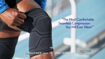 Copper Fit Ice Knee Sleeves TV Spot, 'Menthol' - Thumbnail 8