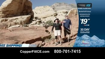 Copper Fit Ice Knee Sleeves TV Spot, 'Menthol' - Thumbnail 9