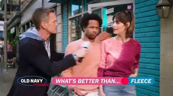 Old Navy TV Spot, 'What's Better Than Fleece?: 30 Percent Off' Featuring Neil Patrick Harris - Thumbnail 7