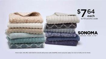 Kohl's TV Spot, 'Stack the Savings: Tops, Dress Apparel and Bath Towels' - Thumbnail 5