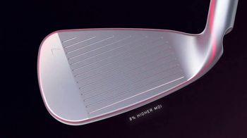PING Golf G410 Iron TV Spot, 'Forgiveness. Re-shaped.' - Thumbnail 5