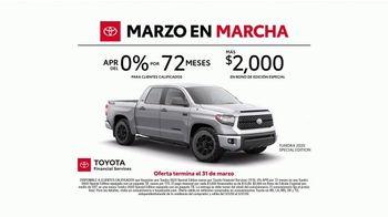 Toyota Marzo en Marcha TV Spot, 'No hay nada que pensar' [Spanish] [T2] - Thumbnail 4