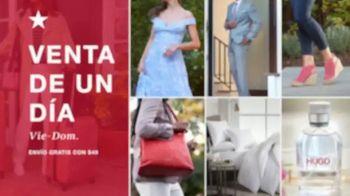 Macy's Venta de Un Día TV Spot, 'Edredones, cocina y equipaje' [Spanish] - Thumbnail 1
