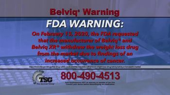 The Sentinel Group TV Spot, 'Belviq Warning' - Thumbnail 1