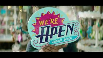 Visit Virginia Beach TV Spot, 'We're Open'