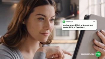 Green Dot Cards Unlimited TV Spot, 'Incredible 3 Percent' - Thumbnail 6