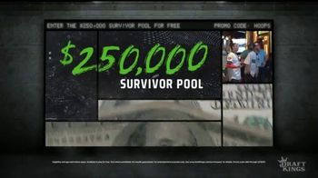 DraftKings TV Spot, 'Royalty: March Mania Survivor Pool: College Debt' - Thumbnail 4